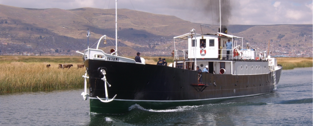 Yavari steam ship