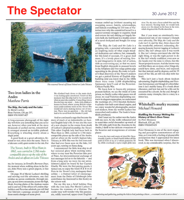 The Spectator article