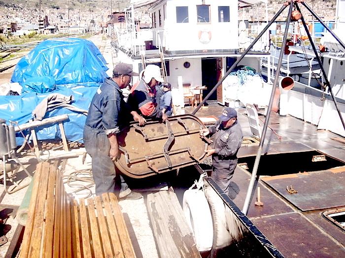 Preparing the Yavari