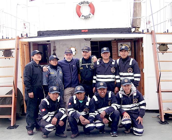 Yavari crew