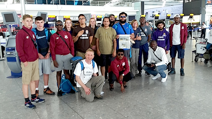 Young Hammers off to Peru to climb the Andes